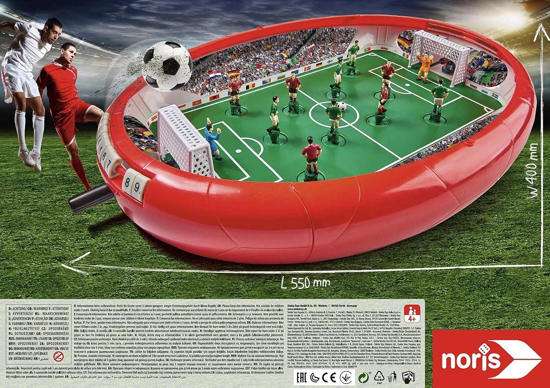 noris Fußball Arena-Aktionsspiel für Die ganze Familie-Spielzeug AB 4 Jahre 606178712 Juego de acción para niños a Partir de 4 años, Multicolor: Amazon.es: Juguetes y juegos