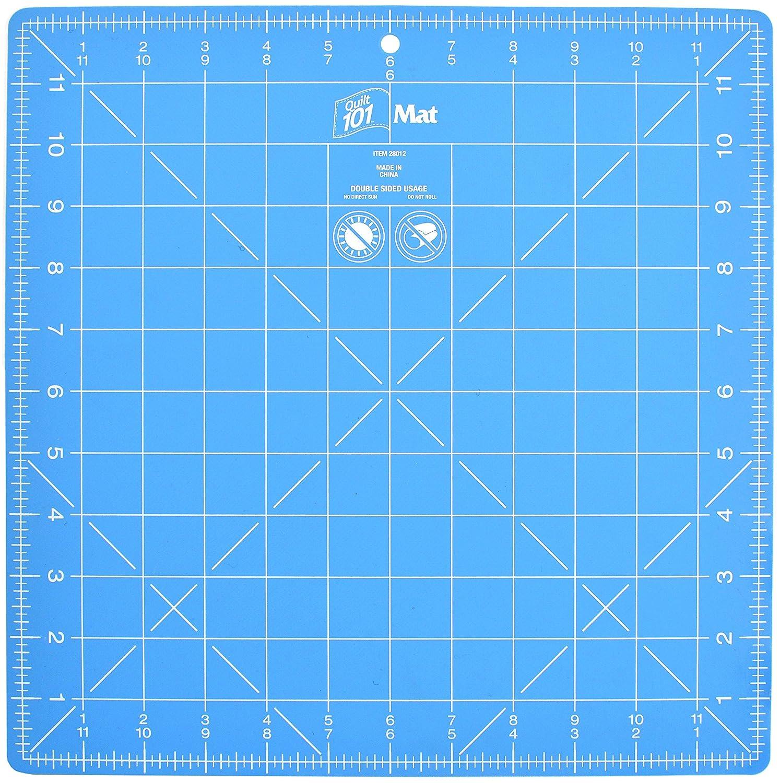 Dritz Quilting Q101 12x12 101 Rotary Cutting Mat X 12In, 12 x 12 12 x 12 Prym Consumer 28012