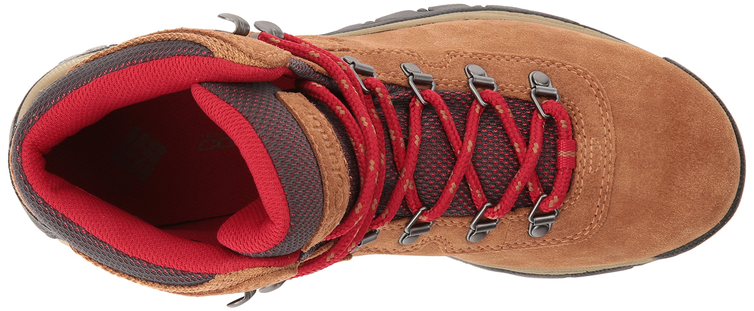 Columbia Women's Newton Ridge Plus Waterproof Amped Hiking Boot, Elk, Mountain Red, 7.5 B US by Columbia (Image #8)