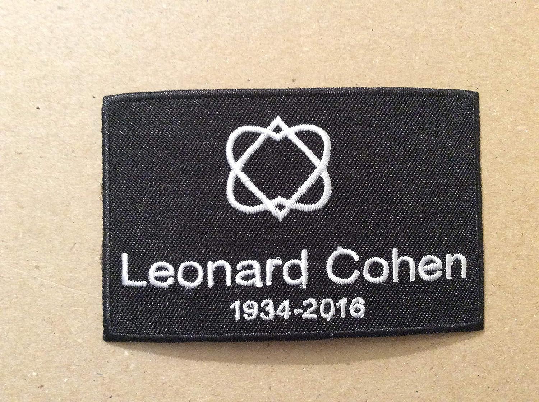 Leonard Cohen 9 BLUE HAWAI ECUSSON Patches AUFNAHER Toppa THERMOCOLLANT 5,5 CM