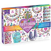 Craft-tastic – Puffy Charm Palooza Craft Kit – Makes 249 Charms! – Decorate Bracelets, a Necklace, Pins, Pencil Toppers…