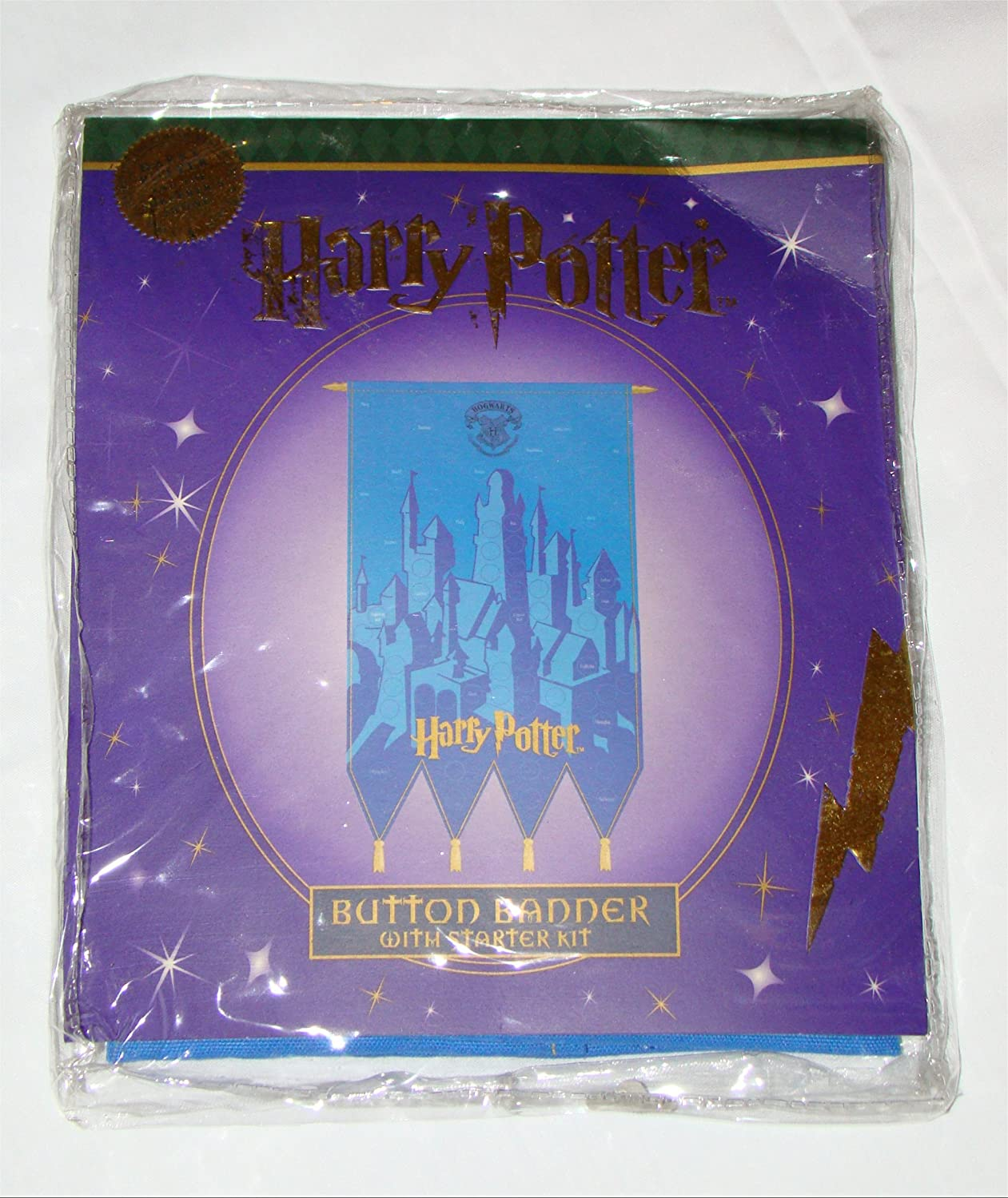 Harry Potter Button Banner Warner Brothers