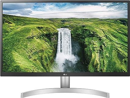 Monitor 27 pollici lg 27ul500 ultrahd 4k led ips hdr 10, 3840x2160, 1 miliardo di colori, 27UL500-W
