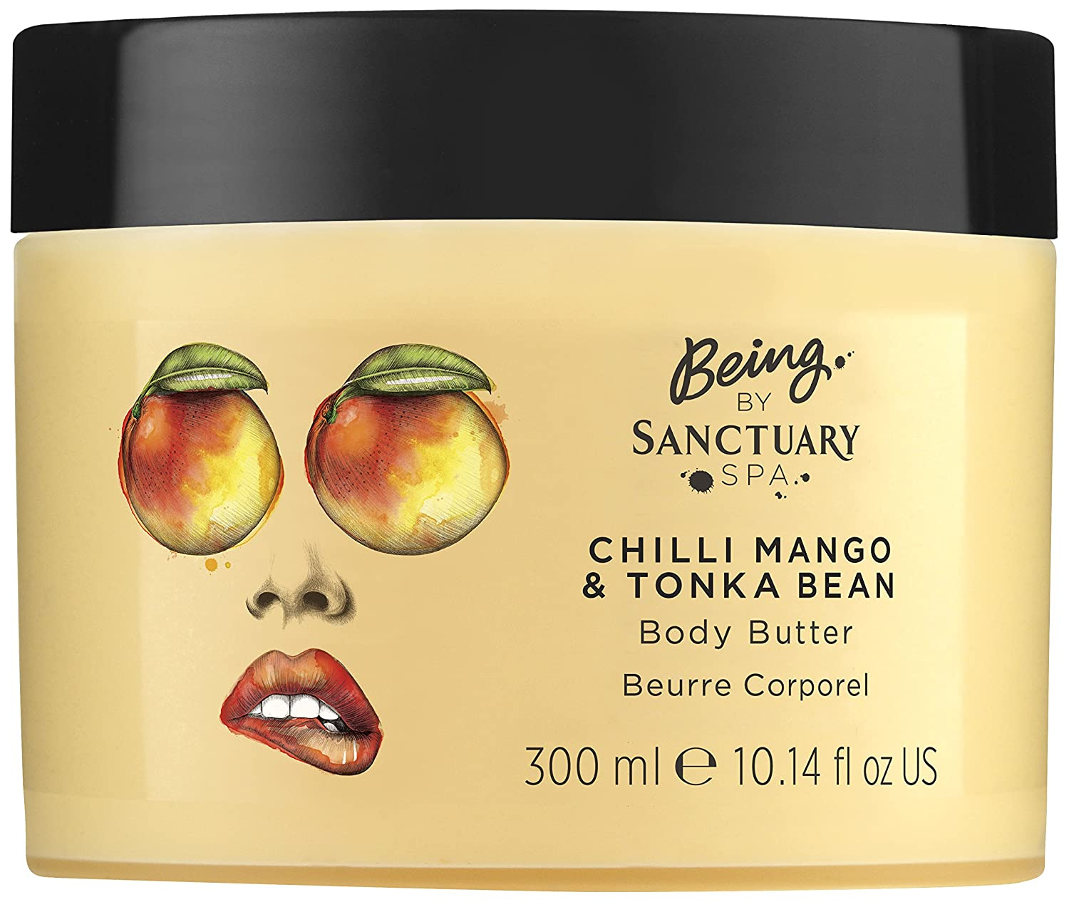 Being by Sanctuary Spa Salted Caramel and Macademia Body Butter, 300 ml PZ Cussons Beauty 100102115
