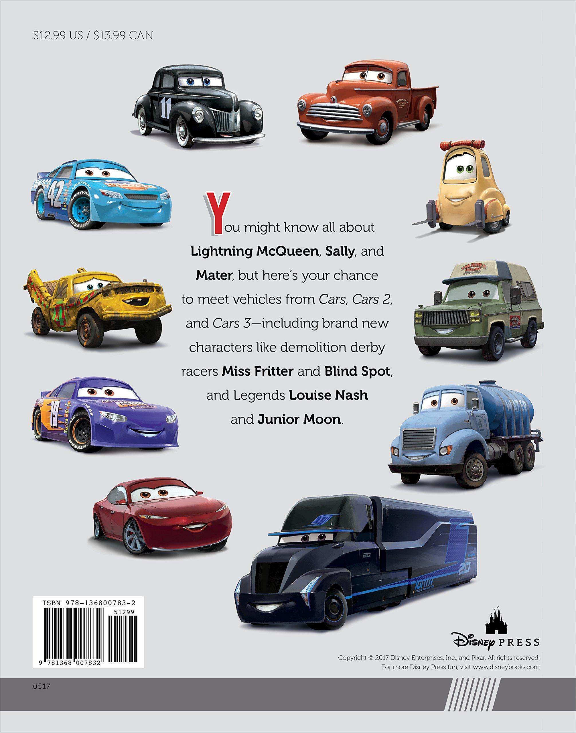 The Car Book >> Meet The Cars Disney Book Group Disney Storybook Art Team