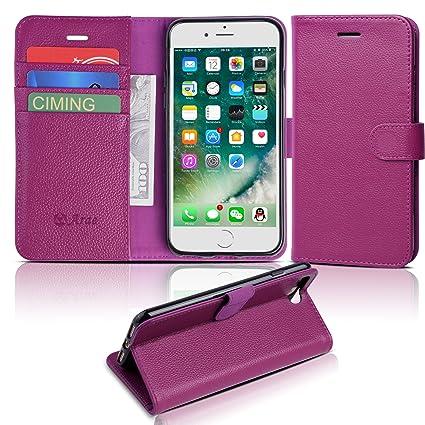 Amazon.com: Funda Arae con tapa para iPhone 7 Plus y 8 Plus ...