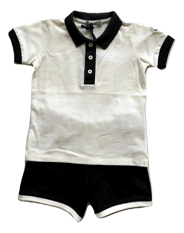 MONCLER 8812350 - Conjunto de Camiseta y pantalón Corto para niño ...