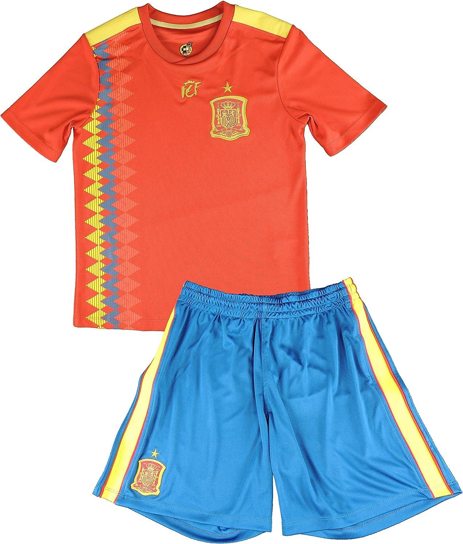 Réplica Oficial de la Primera Equipación de la Selección Española ...
