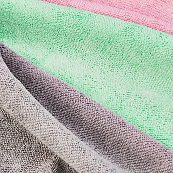 24-Pack Basics Cleaning Cloth Multi-Colored Mix Bundle