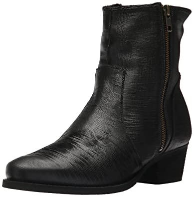 Walking Cradles Women's Giselle Ankle Boot, Black Laser Leather, ...