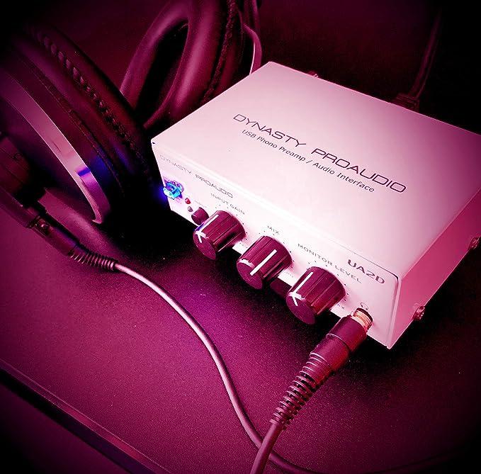 Dynasty ProAudio DA-UA2D - Preamplificador de Audio y Audio USB ...