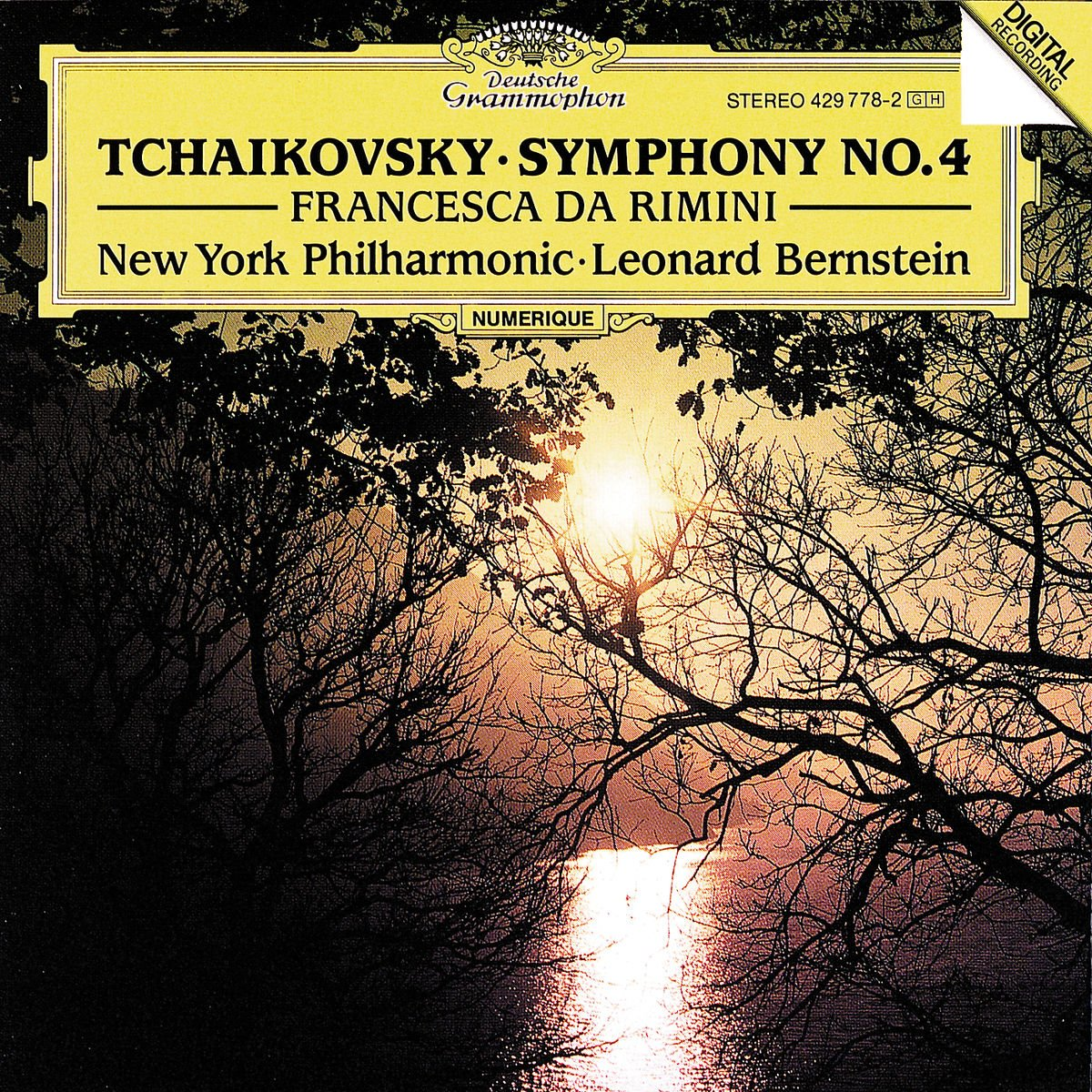 Tchaikovsky: Symphony No. 4 / Francesca da Rimini by Deutsche Grammophon