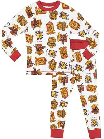 edc61fd8b Harry Potter Boys Harry Potter Pyjamas - Snuggle Fit: Amazon.co.uk: Clothing