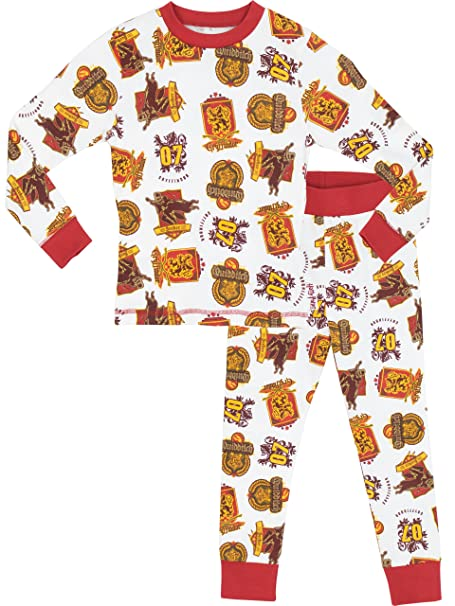 Harry Potter - Pijama para Niños - Harry Potter - Ajuste Ceñido- 11 a 12
