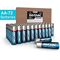 Deals on 72-Count Rayovac AA Batteries, Alkaline Double A Batteries