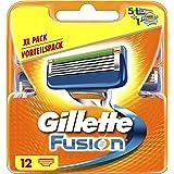 Gillette Fusion Rasierklingen für Männer 12Stück
