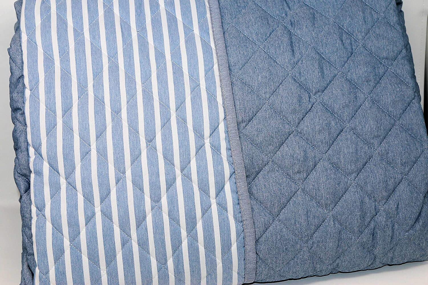 170x260 taupe Dream cm Quilted Bedspread//Quilt for Single Bed Medium Season Dyed Thread and Double-Sided 100 g//m2 Hypoallergenic GF Ferrari Art