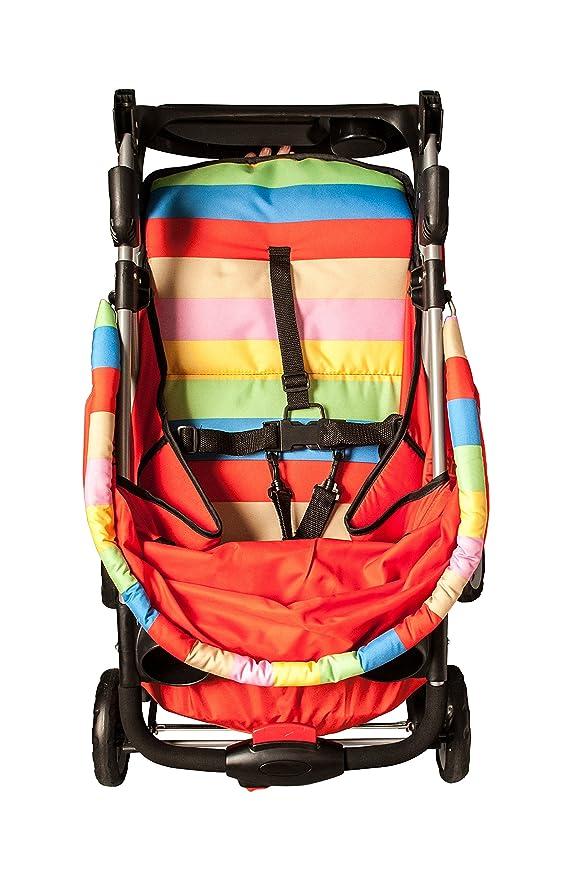 U-Grow Baby Stroller Pram, Red