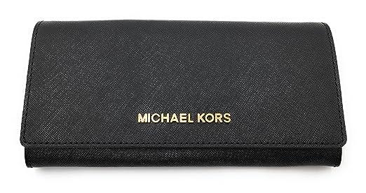 Michael Kors 35H6GYAE3L BLACK Portemonnaies Frau