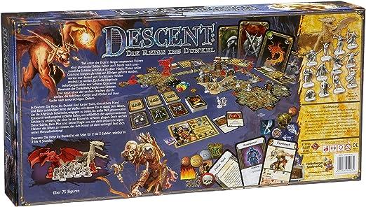 Descent. Viaje a tinieblas Juego Tablero: Amazon.es: Juguetes y juegos
