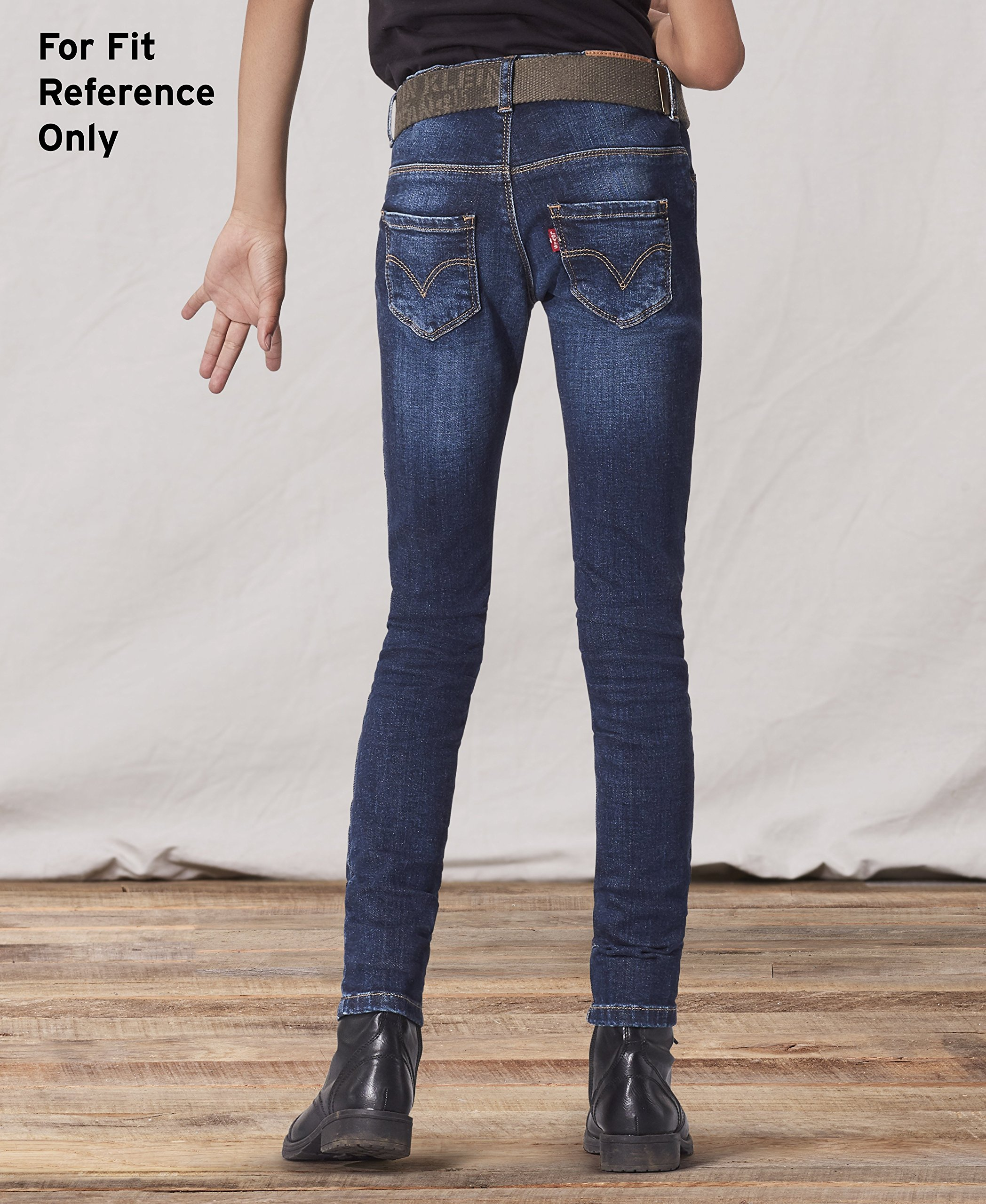 Levi's Girls 7-16 Regs 2702 Denim Legging, Night Out, 16 by Levi's (Image #4)