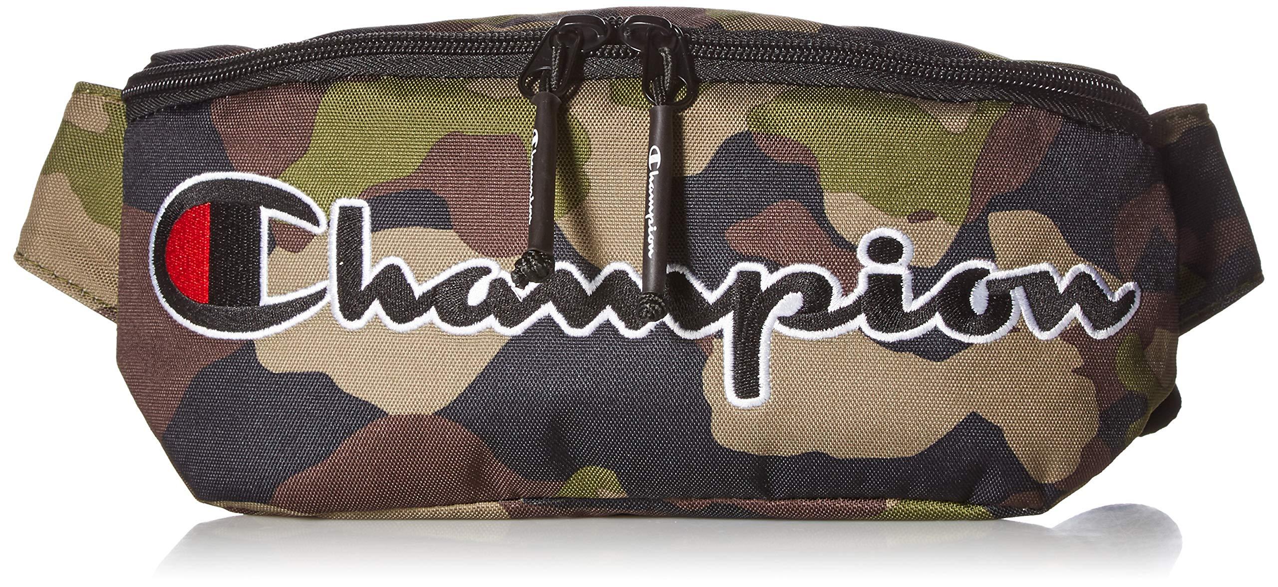 Champion Men's Prime Waist Bag, woodland camo One Size