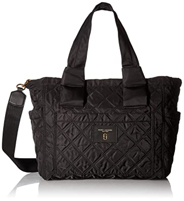 6ff8fe451ebc Amazon.com  Marc Jacobs Women s Nylon Knot Babybag Black  Shoes