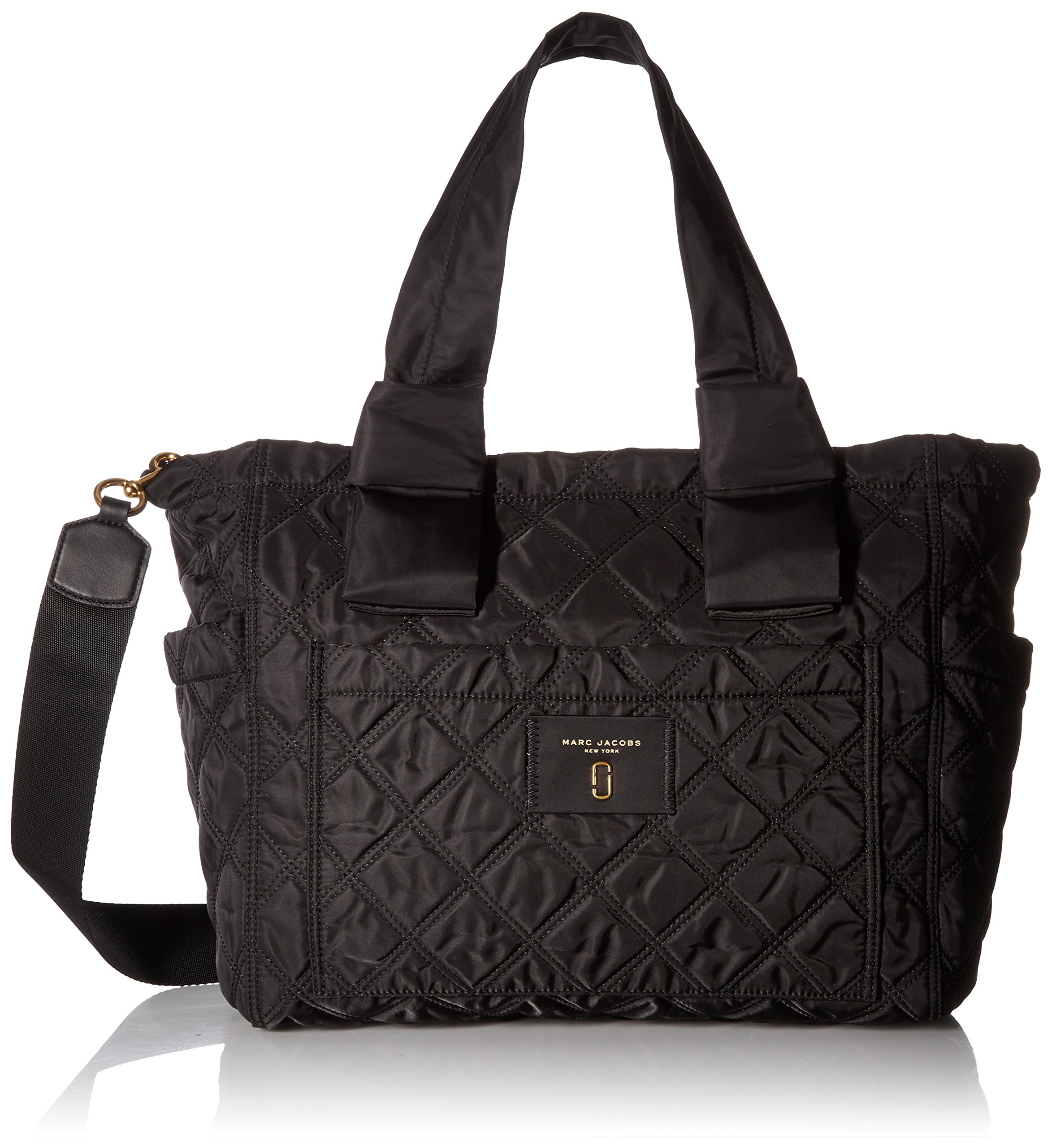 Marc Jacobs Women's Nylon Knot Babybag, Black