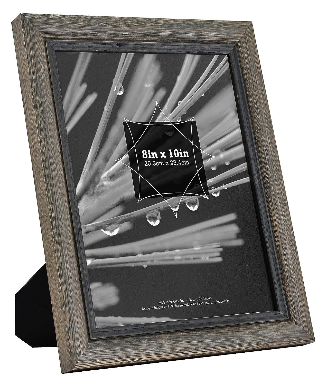 Amazon.de: MCS Zoll Regency Holz Rahmen 8x10 Inch grau