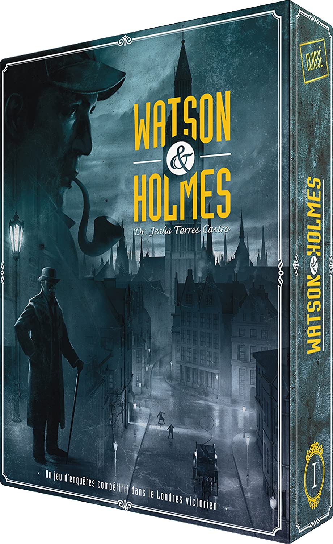 Asmodee – scwh01fr – Watson y Holmes: Amazon.es: Juguetes y juegos