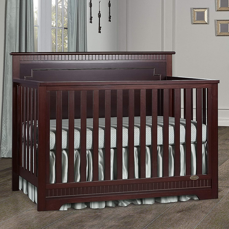 Storm Grey Dream On Me Morgan 5 in 1 Convertible Crib