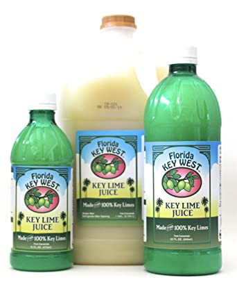 Florida Key West 100% Jugo de Limón Key Authentic 16 Oz: Amazon.es ...
