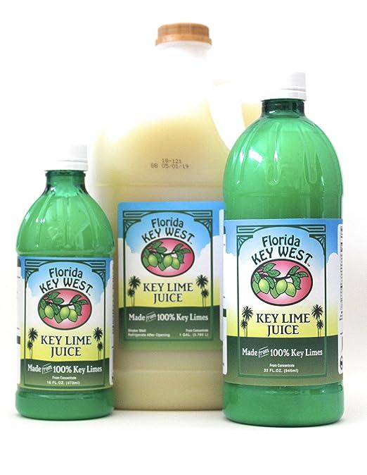 Florida Key West 100% Jugo de Limón Key Authentic 16 Oz: Amazon.es: Alimentación y bebidas