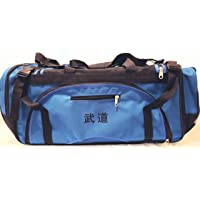 """Martial arts bag with Mesh, Boxing MMA Deluxe Equipment Bag, TKD Bag, Karate Bag Red or Blue 13"""" x 27"""" x 14"""""""