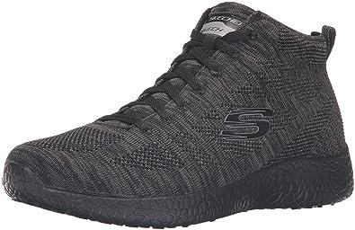 2017 Jeans Skechers Stamina Cutback Memory Foam Wide Sneaker GreyBlack