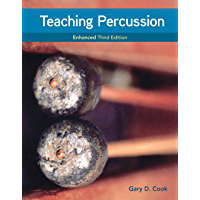 Teaching Percussion, Enhanced, Spiral bound Version book cover
