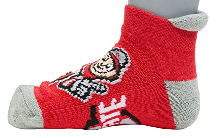 BAX 12-24 Months Donegal Bay NCAA Ohio State Buckeyes Unisex Ohio State Baby Qtr Sockohio State Baby Qtr Sock Scarlet