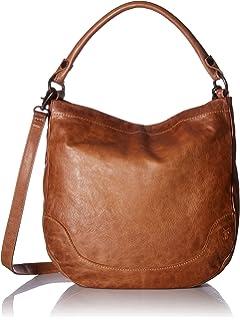 35962df03 Amazon.com: Frye Melissa Tote, Beige, One Size: Clothing