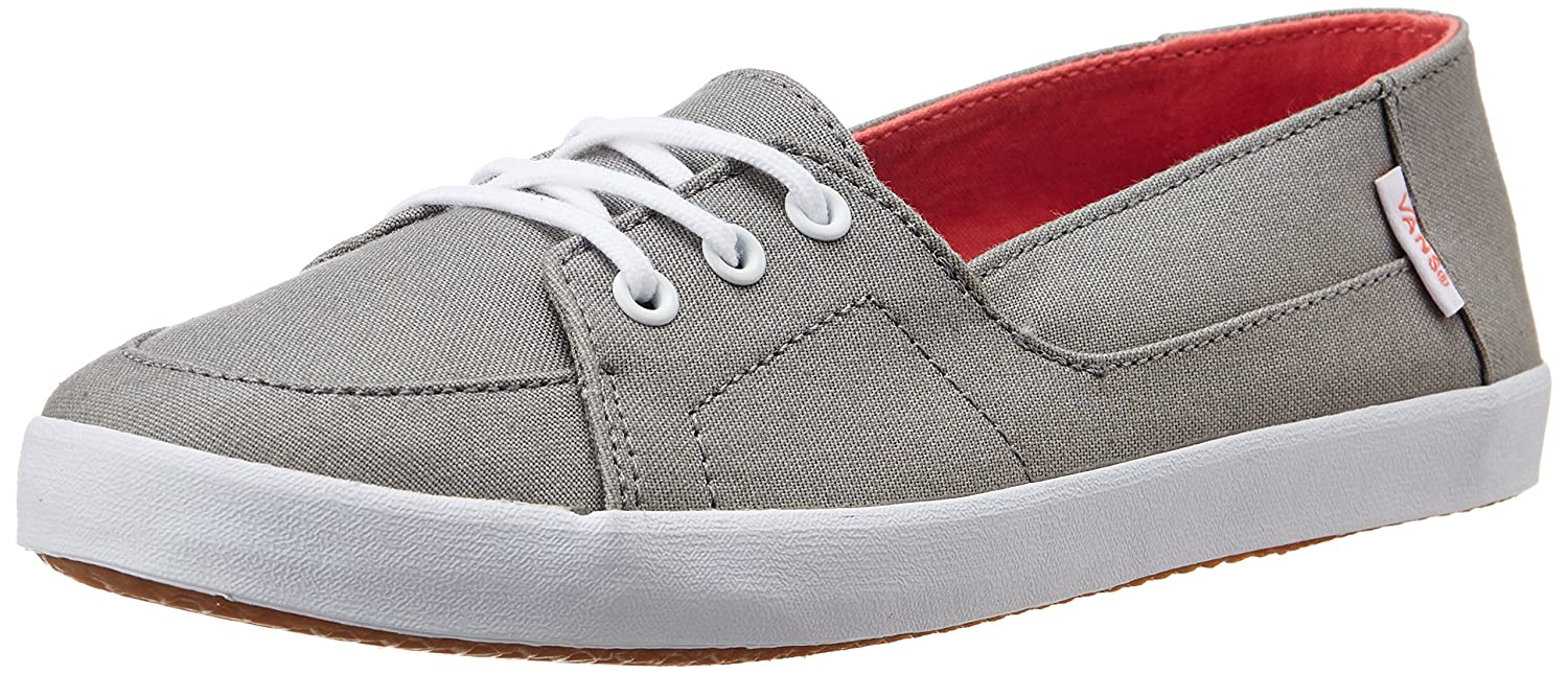 c2cee101bb Vans Women s Palisades Vulc Titanium and Porcelainrose Canvas Sneakers -  5.5 UK 8 US  Buy Online at Low Prices in India - Amazon.in