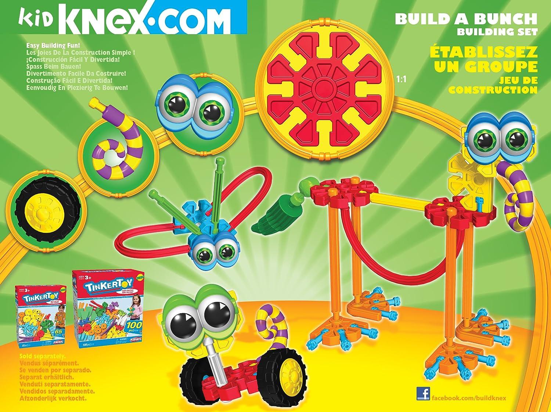 Kid K\'NEX Build A Bunch Set for Ages 3+, Construction Educational ...