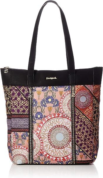 Desigual Shopping Bag Slavia Bogota Carmin: