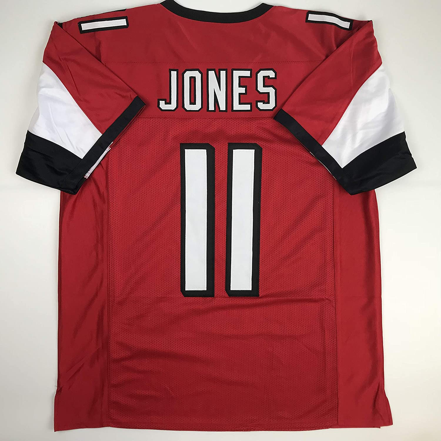 cca0bdd361d45 Amazon.com: Unsigned Julio Jones Atlanta Red Custom Stitched Football Jersey  Size XL New No Brands/Logos: Sports Collectibles