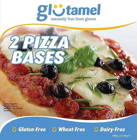 Glutamel Parte Bases De Pizza Al Horno 2 X 150 g (Paquete de 6 ...