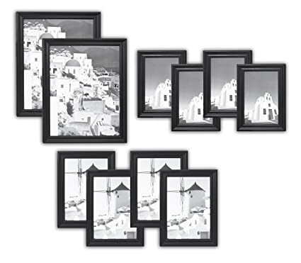 Amazon.com: Golden State Art Wall Frames Collection, Set of 10 ...