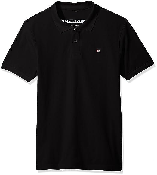 0e9e97a2251e9 Amazon.com  Southpole Men s Classic Short Sleeve Solid Polo Shirt  Clothing