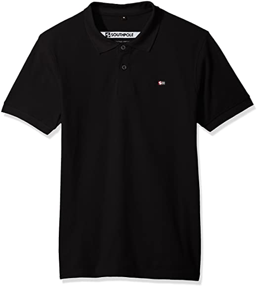 Amazon.com  Southpole Men s Classic Short Sleeve Solid Polo Shirt ... 281150c34