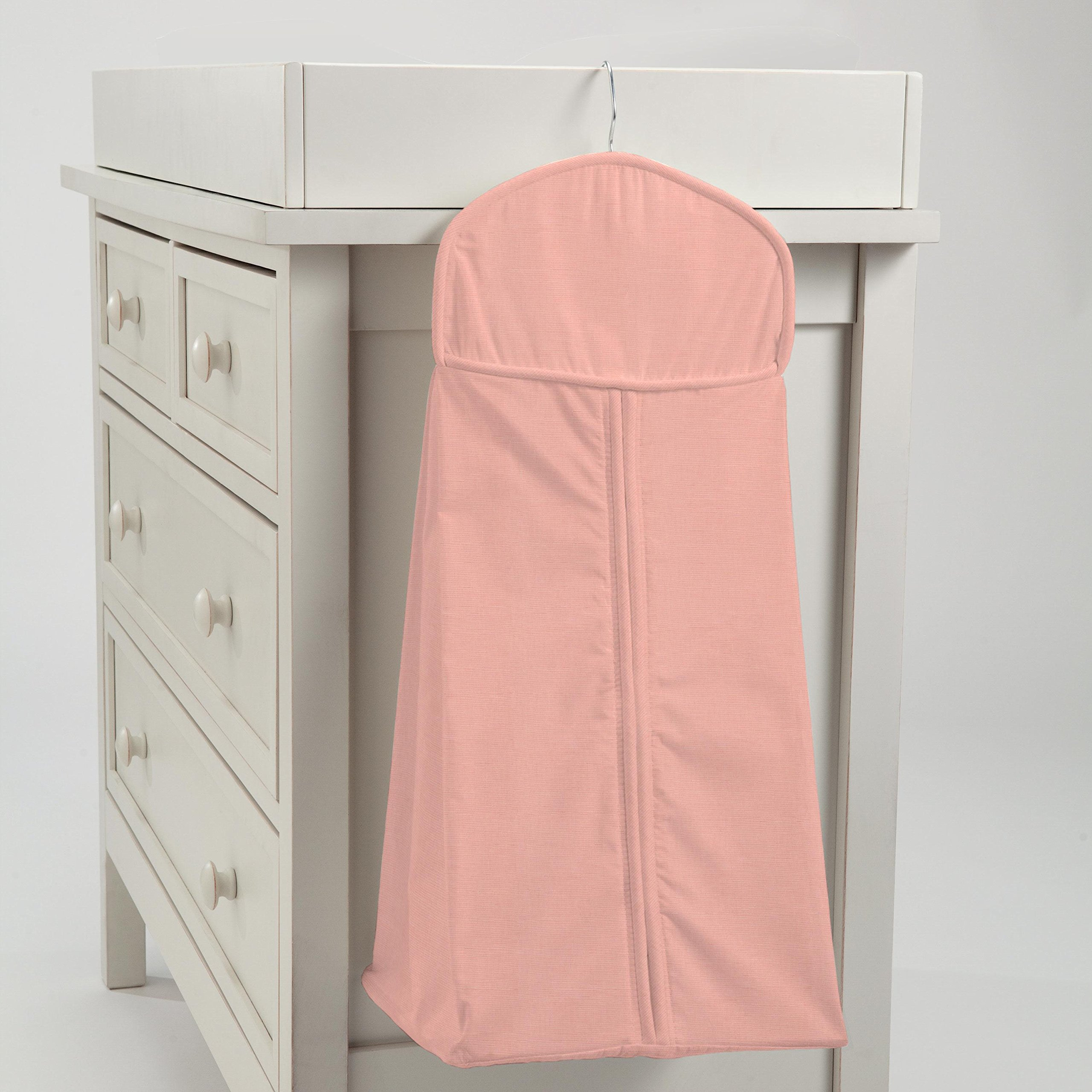 Carousel Designs Solid Light Coral Diaper Stacker by Carousel Designs
