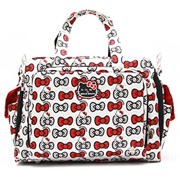 00e26b4b2 Amazon.com : JuJuBe Be Prepared Travel Carry-on/Diaper Bag, Hello Kitty  Collection - Peek A Bow : Baby