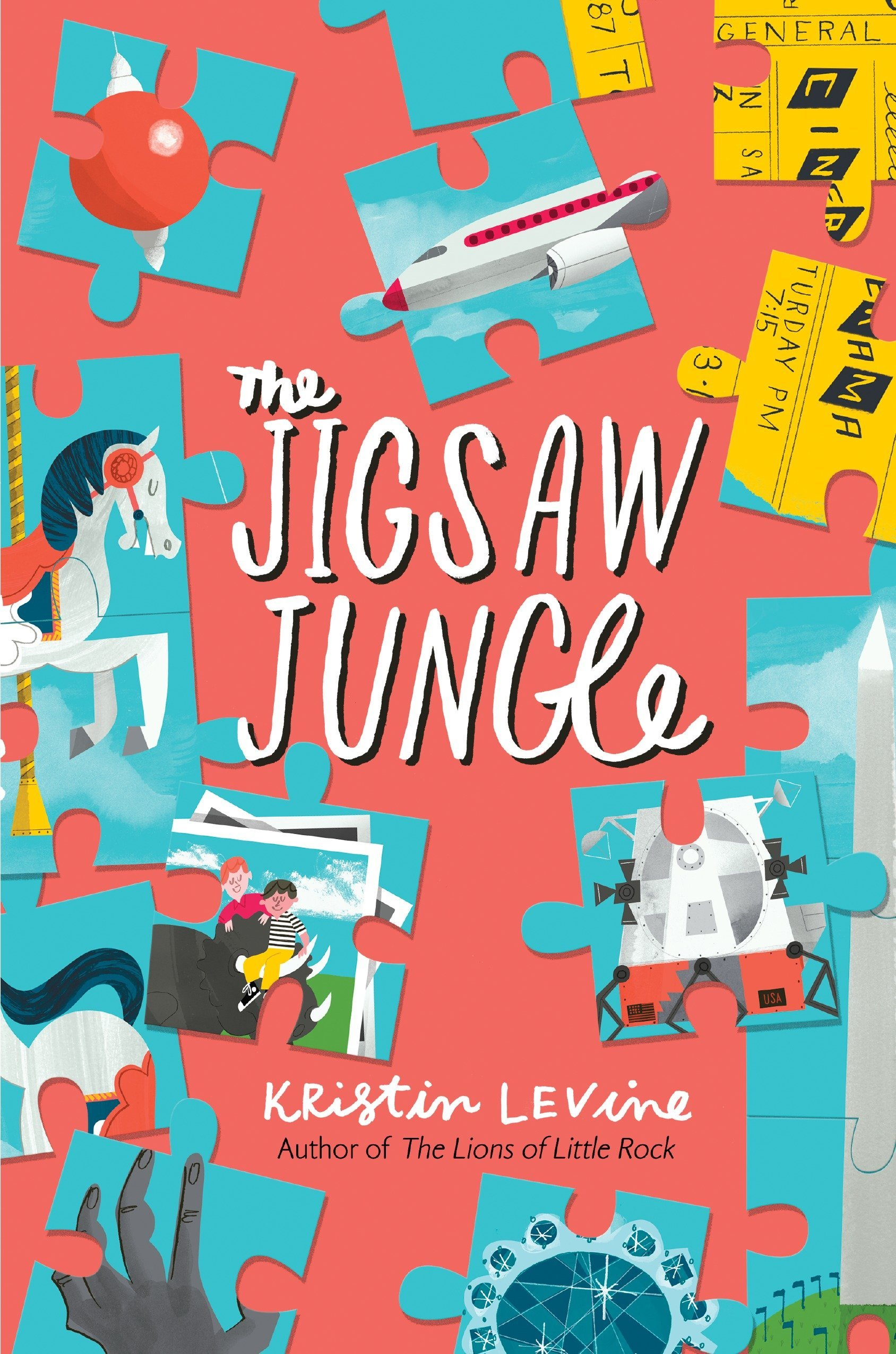 Image result for The Jigsaw Jungle by Kristin Levine.