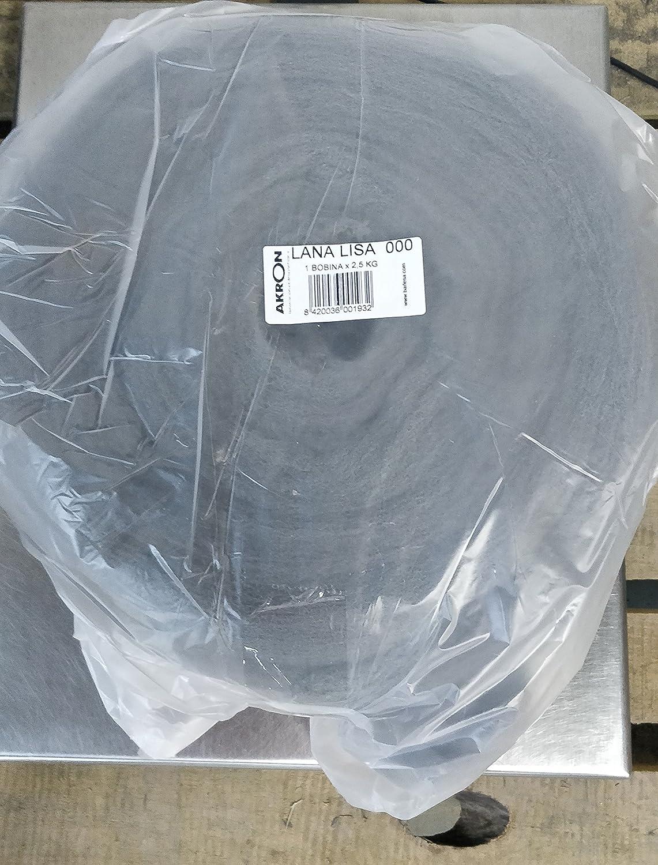 Bobine de laine d/' acier 2 5/ kg 5kg 1177 Barlesa N.000